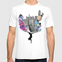 ADAPTATION Mens Fitted Tee White SMALL