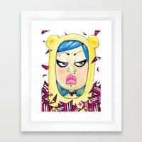 Doky Bear Framed Art Print