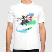 Art Of War Mens Fitted Tee White SMALL