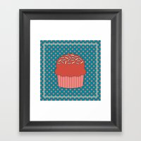 Cupcake 3 Framed Art Print