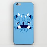 The Bluest Monster Ever :(( iPhone & iPod Skin