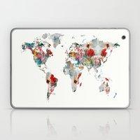 World Map Abstract  Laptop & iPad Skin