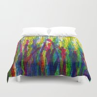 stripes traffic 2 Duvet Cover