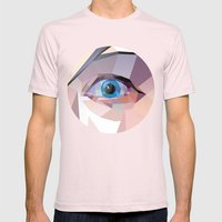 I. Mens Fitted Tee Light Pink SMALL