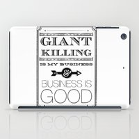 Giant Killing is My Business... iPad Case