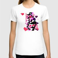 Single Track To Love 2 Womens Fitted Tee White SMALL