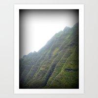 Cliffs Of Na Pali Art Print