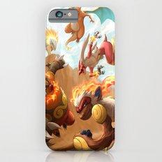 Fire Blast Slim Case iPhone 6s
