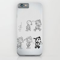 Cartoon Character Step by Step iPhone 6 Slim Case