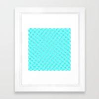 BLUE DOT Framed Art Print