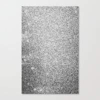 Metallic (Silver) Canvas Print