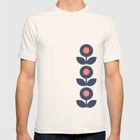 MCM Bloomin' Bluebell Mens Fitted Tee Natural SMALL