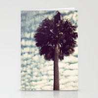 Charleston Palm Stationery Cards