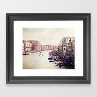 Venice Revisited Framed Art Print