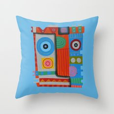Your self portrait Throw Pillow