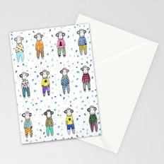 Pijama party Stationery Cards