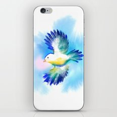 Bluebird iPhone & iPod Skin