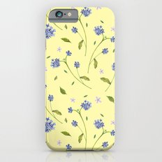 Botanical Print (Hound's Tongue)  Slim Case iPhone 6s