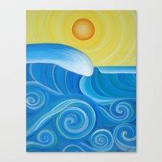 Perfect Surf Canvas Print