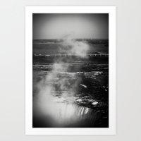 Horseshoe Falls Art Print