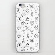 Monster Cuties iPhone & iPod Skin