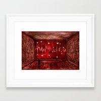Lovestory Framed Art Print