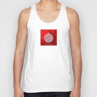 Happy Holidays - Christm… Unisex Tank Top