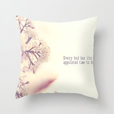 Appointed Bloom Throw Pillow