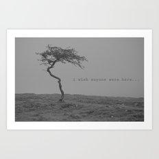postcard from nowhere... Art Print