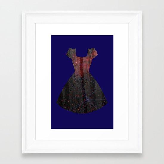 Filled with light Framed Art Print