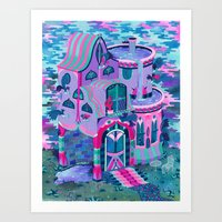 Bertram's House Art Print