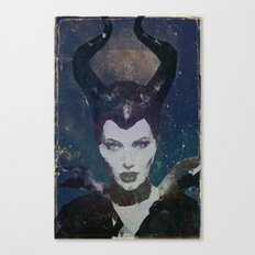 Maleficent Canvas Print