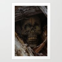 Dead Wood Art Print