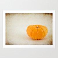 Baby Pumpkin Art Print