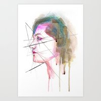 Self-portrait Study Art Print