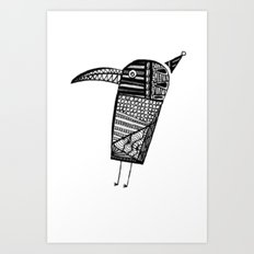 Party Bird Art Print