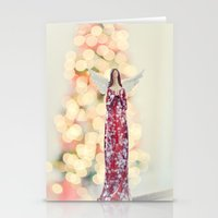 Merry Christmas Angel Stationery Cards
