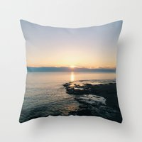 Sunrise I Throw Pillow