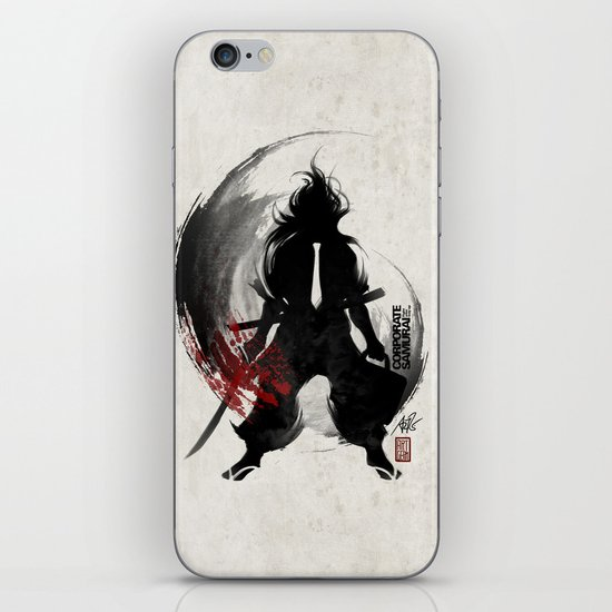Corporate Samurai iPhone & iPod Skin