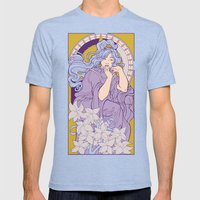 Chronos II Nouveau Mens Fitted Tee Tri-Blue SMALL