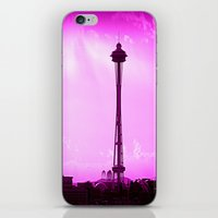 Space Needle iPhone & iPod Skin