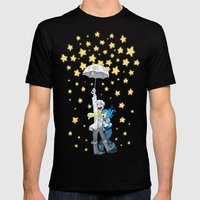 DMMd :: The Stars Are Fa… Mens Fitted Tee Black SMALL