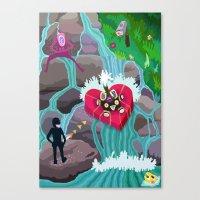 STELA INIZO-XUA Canvas Print