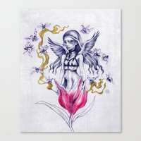 INCENSE  Canvas Print