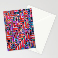 Pixel Repeat no.2 Stationery Cards