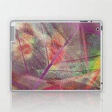 Colored dry leaf Laptop & iPad Skin