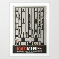 MADMEN Art Print