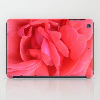 Pretty n Pink Rose iPad Case