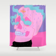Burning On The Inside Shower Curtain