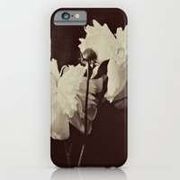 iPhone & iPod Case featuring White Peony by Kimberly Blok